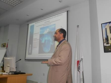 by training course for Biosimilars and Biobetter at Hikma Pharmaceutical 2010